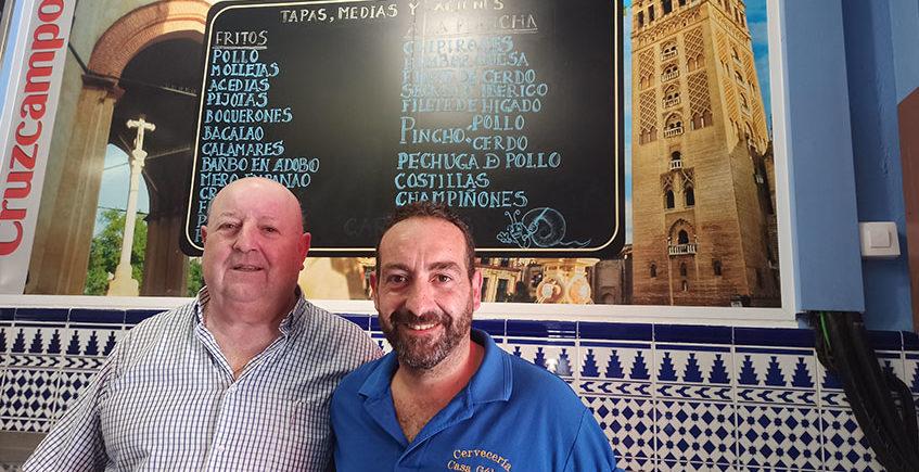 Paco y José María Galvez
