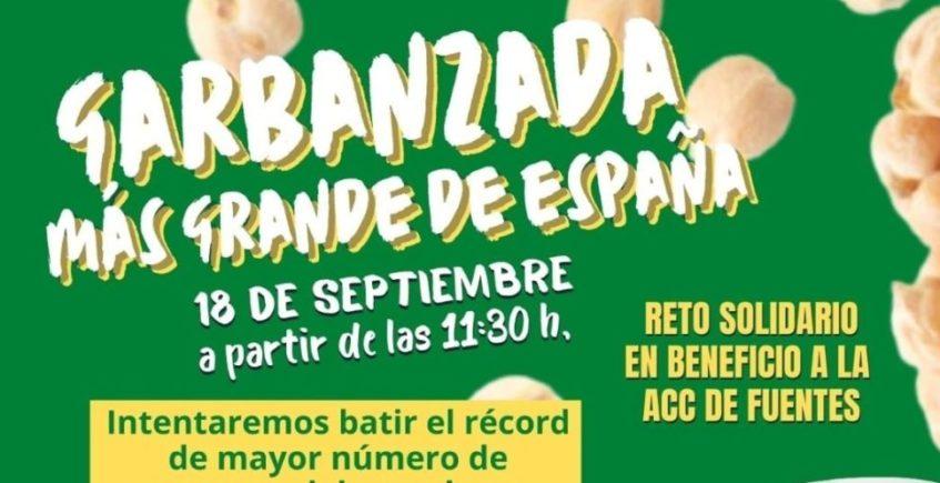 La garbanzada más grande de España en Fuentes de Andalucía