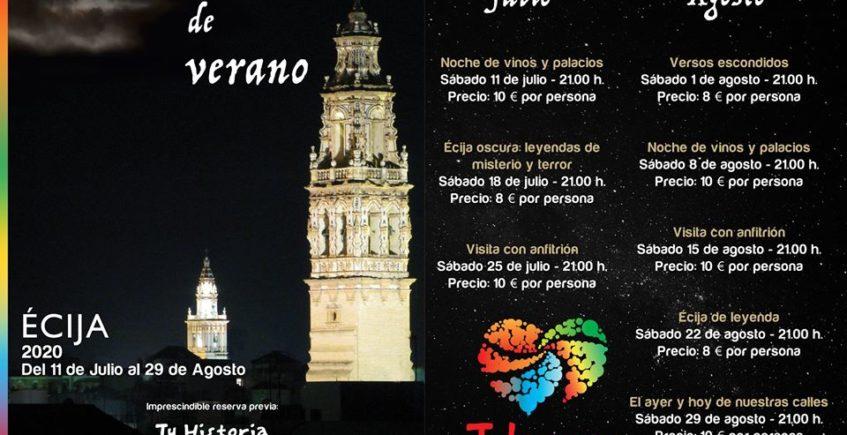 Noche de vinos y palacios en Écija