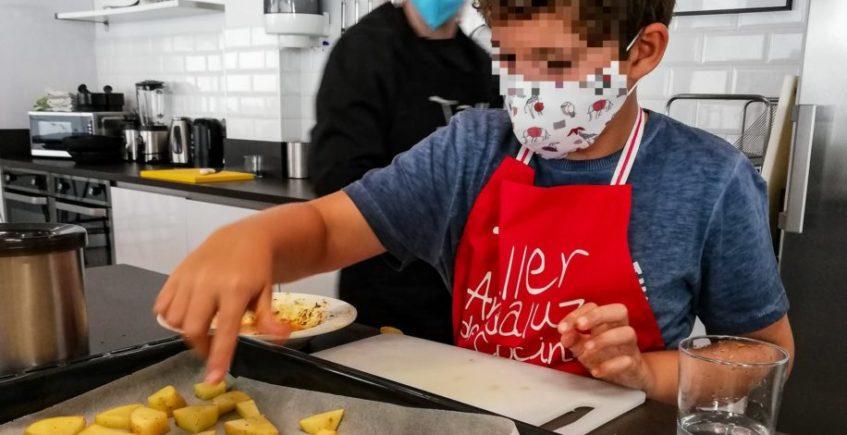 Escuela de cocina de verano para niños de Taller Andaluz
