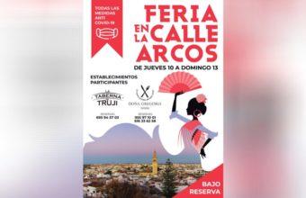 Feria en la calle Arcos de Lebrija