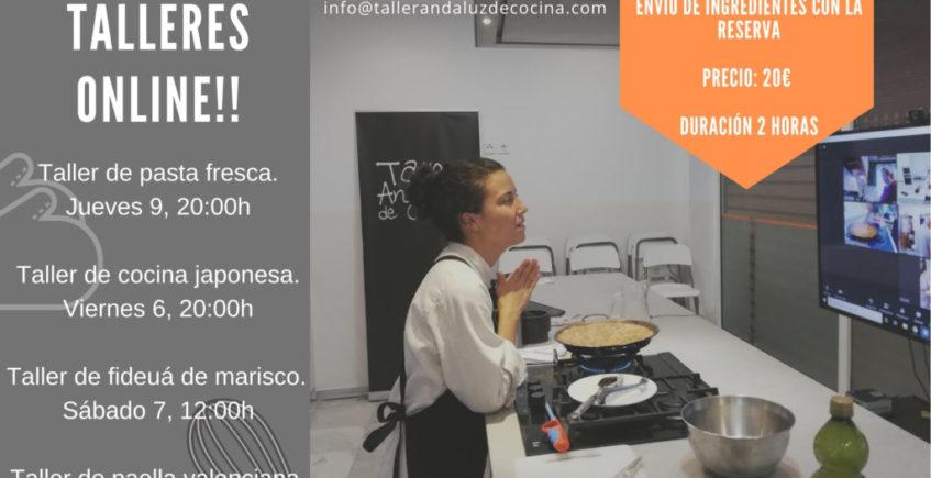 Talleres online de Taller Andaluz de Cocina