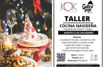 Taller de cocina navideña KOK+El Gallo Rojo