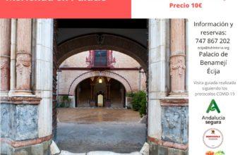 Merienda en el Palacio de Benamejí de Écija