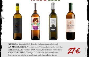 Cata de vinos Verdejos