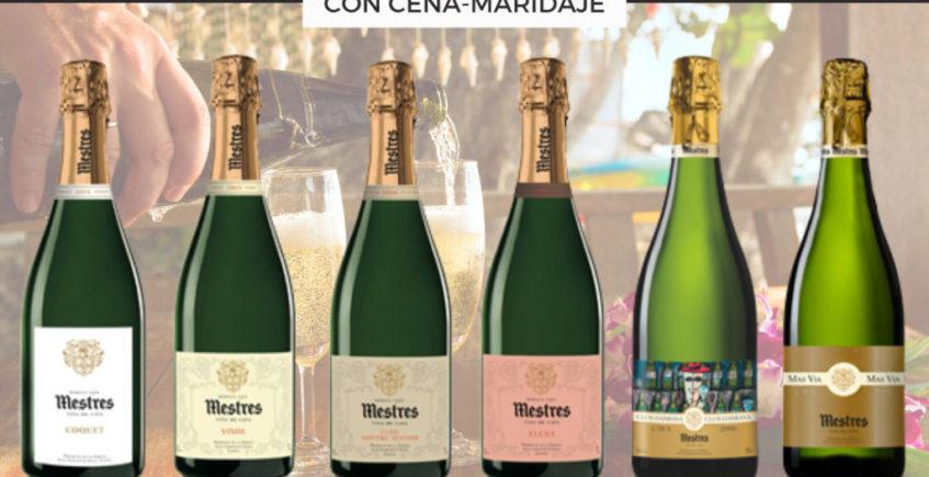 Cata de Cavas Mestres con cena maridaje en la Vinacería
