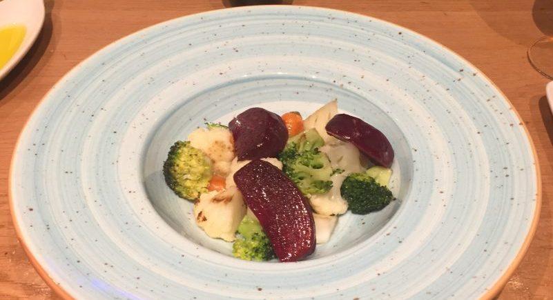 La parrillada de verduras de Tradevo de Mar