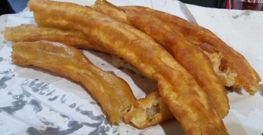 Los churros del Mesón Castellano