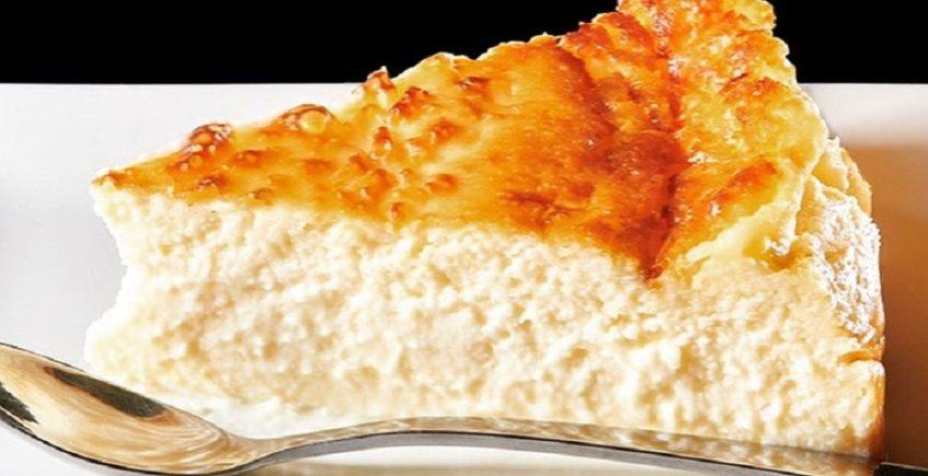 La tarta de queso de La tarta de la madre de Cris