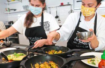 Taller de cocina tailandesa en Taller Andaluz de Cocina