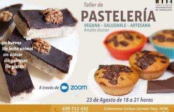 Curso online de pastelería vegana, saludable y artesana