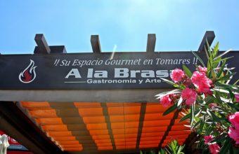 A La Brasa, Gastronomía y Arte