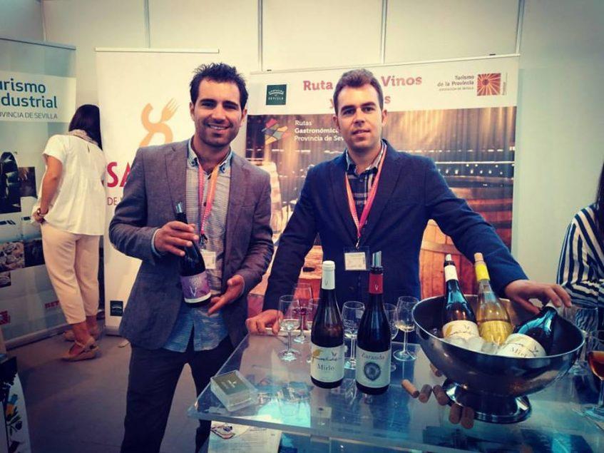 Los emprendedores Pedro Cano y José Antonio Acosta. Foto cedida por Tierra Savia.