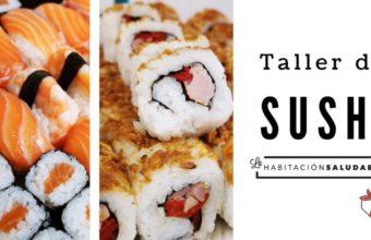 Taller de sushi en la Habitación Saludable