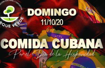 Comida cubana por el día de la Hispanidad