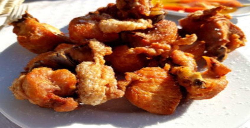 El pollo frito de Las 4 Esquinas