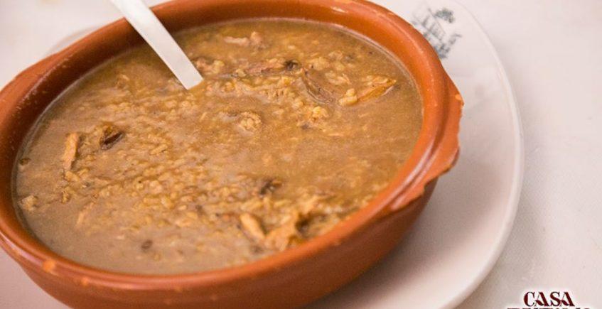 El arroz con perdiz de restaurante Casa Rufino