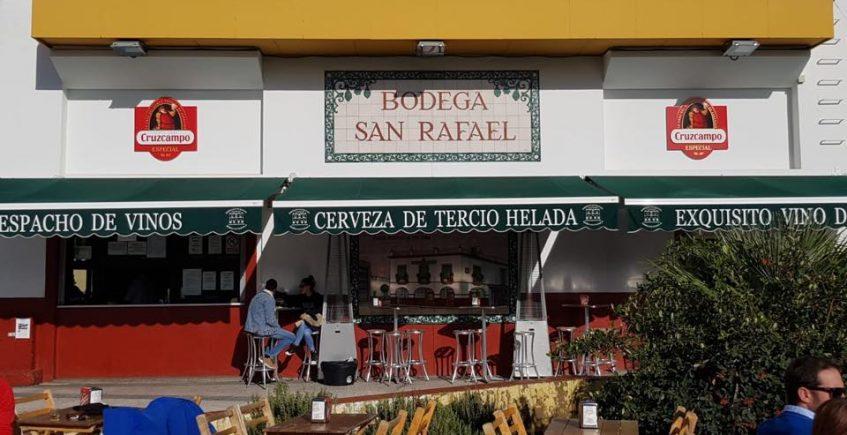 Las papas aliñás de la bodega San Rafael de Mairena