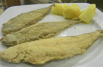 Las acedías fritas del bar Amarra