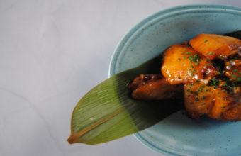 Las alitas coreanas picantes de Ikiru Taberna