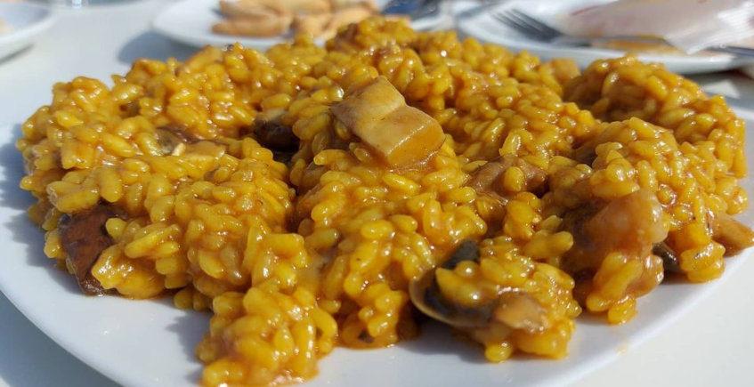 El arroz con setas y carne de Martín Blanco