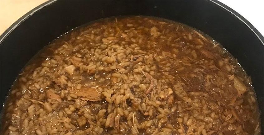 El arroz con perdiz del restaurante Manolo Mayo