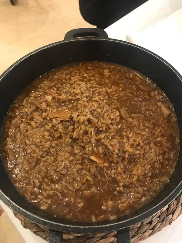 El arroz con perdiz del restaurante Manolo Mayo fotografiado por Antonio Colsa.