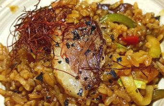 El arroz indonesio de Burro Canaglia