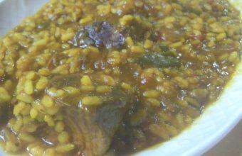 El arroz con carrillada ibérica de la bodega El Potro