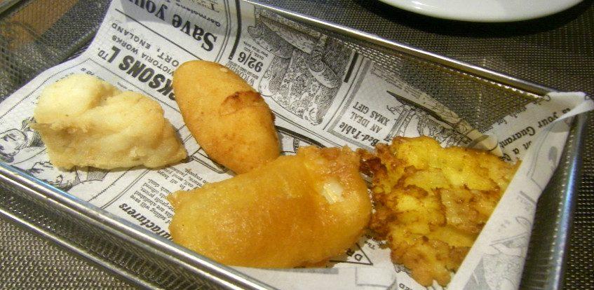 El bacalao frito del Novo Bacalao