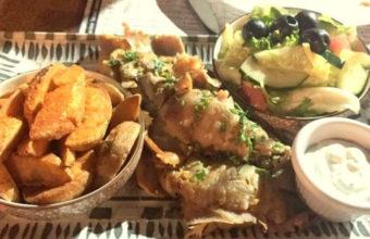 Los platos de El Rincón de Beirut
