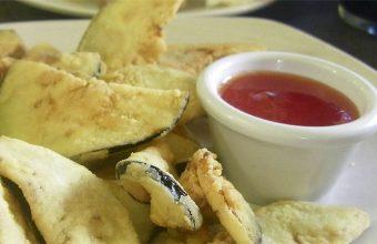 Berenjenas fritas al estilo del restaurante Los Cuevas