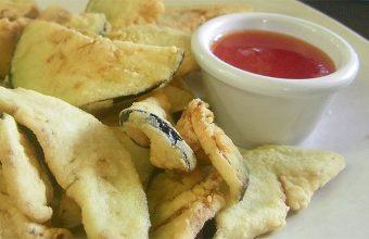 Las berenjenas fritas del restaurante Los Cuevas