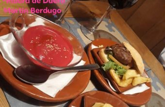 La hamburguesa de salchichón de Bodegas Bocana