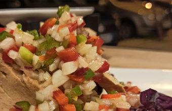 Los tacos de bonito con vinagreta de Infanta