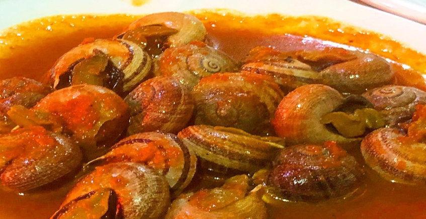 Las cabrillas con tomate de la bodega San Juan