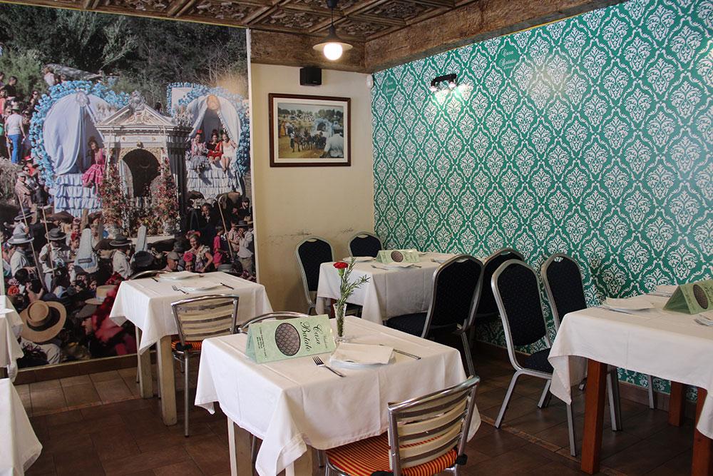 Comedor Casa Batato en Sevilla. Foto: Cedida por el establecimiento