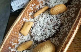 El chorizo con chocolate blanco de Lalola Gastrobar