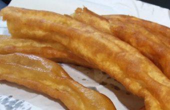 Los churros del kiosko de calentitos de La Macarena