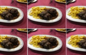 La cola de toro de lidia de la Cafetería Donald
