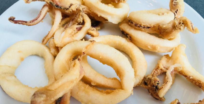 Los calamares fritos de la taberna de El Espigón