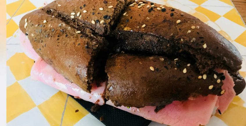 Tostada de pan de centeno. Foto: cosasdecomé