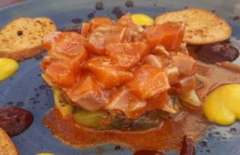 El tartar de salmón de Ditigastro