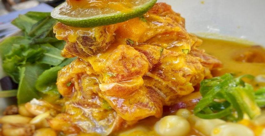 El ceviche de atún de Lima Street Food
