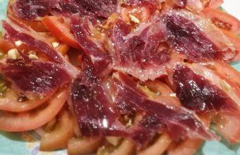 La ensalada Califa del restaurante Cambio de Tercio