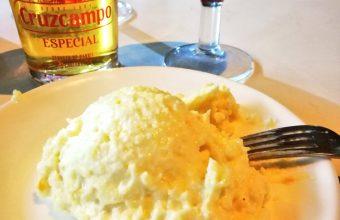 La ensaladilla de la cervecería Pepe Cruz Casa Pepito