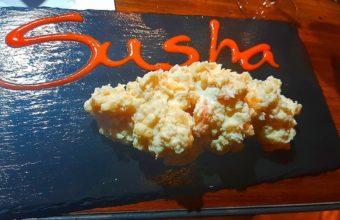 La ensaladilla de gambas al ajillo de Sasha Restaurante