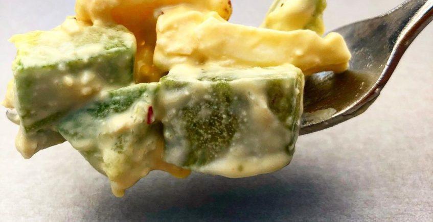 La ensaladilla de calabacín de la Grulla