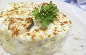 La ensaladilla de pulpo del restaurante Sabina