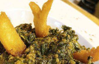 Las espinacas con garbanzos del restaurante Carlos Baena
